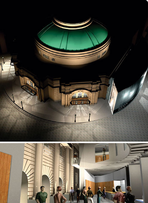 Graphical Images showings the Usher Hall